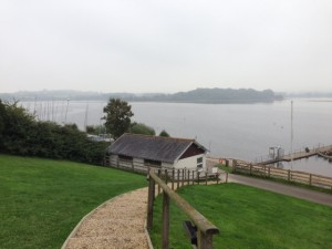 Lovely view across the Lake from the Sailing Club