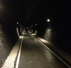 Inside the Combe Down Tunnel