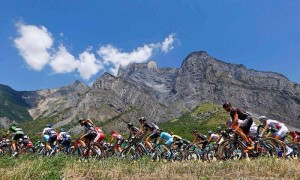 Tour de France in the mountains