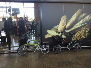 Bromptons and bread